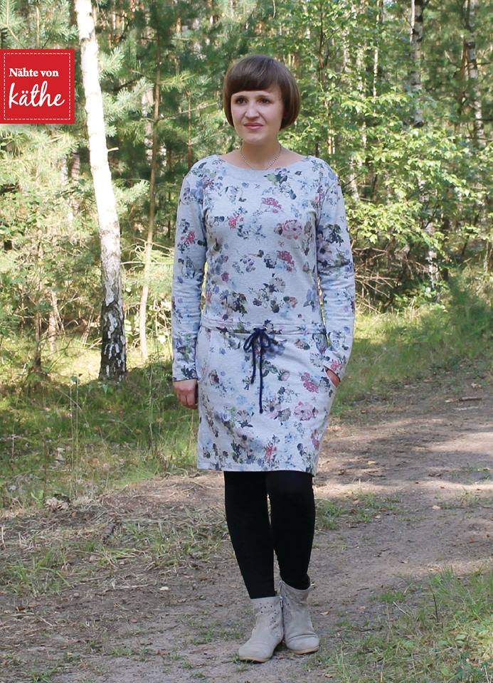 Schnittmuster kleid pia stoffverbrauch