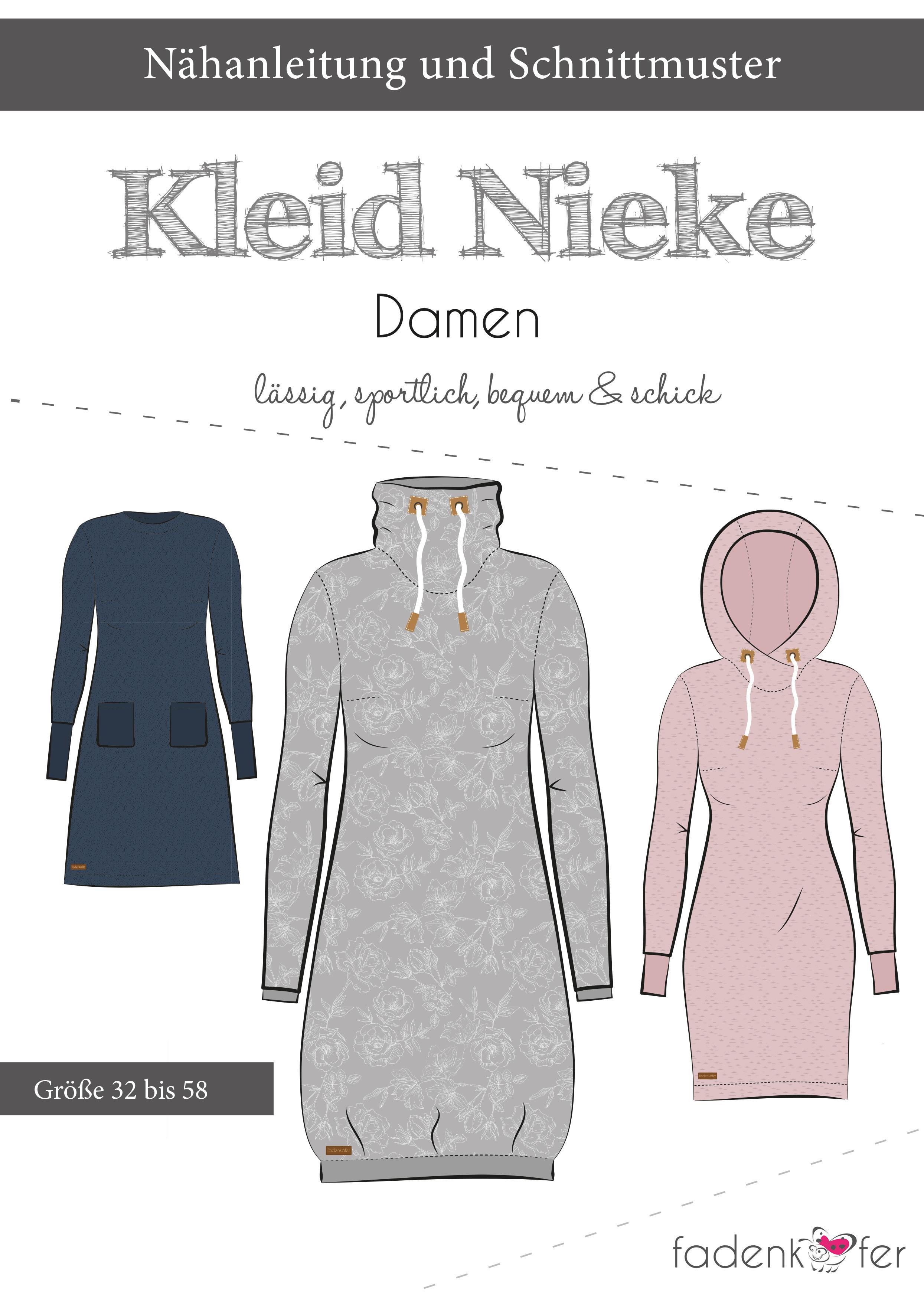 eBook Kleid Nieke Gr. 32 58