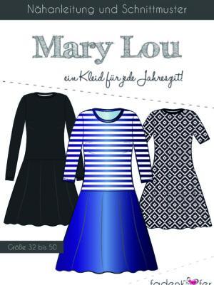 Fadenkäfer-Mary Lou Erwachsene Kurzanleitung Titelblatt