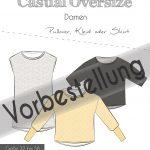 Titelbild Oversize Pullover Vorbestellung