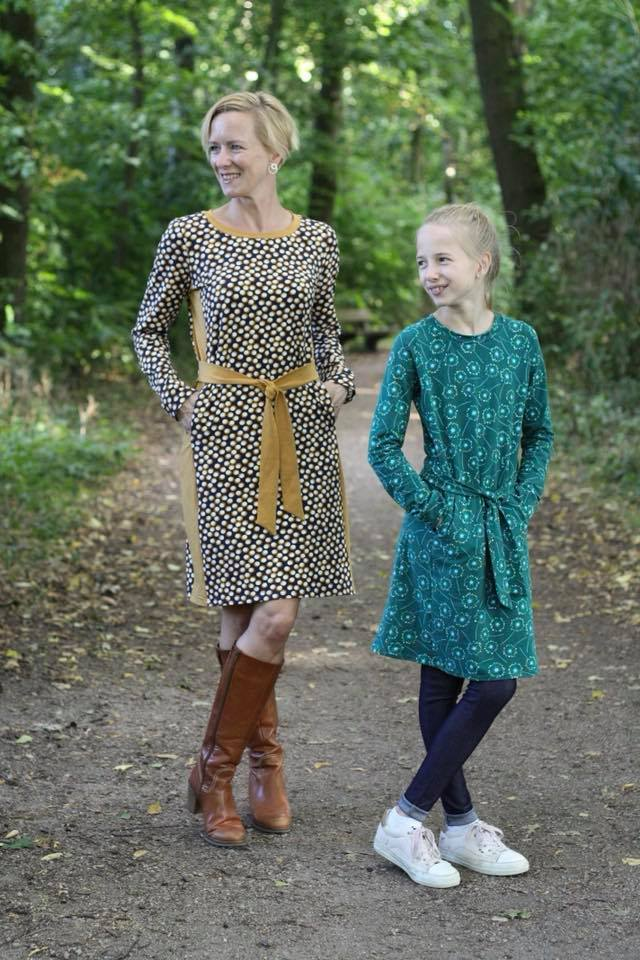 Kombi eBook Kleid Mila Damen und Kinder