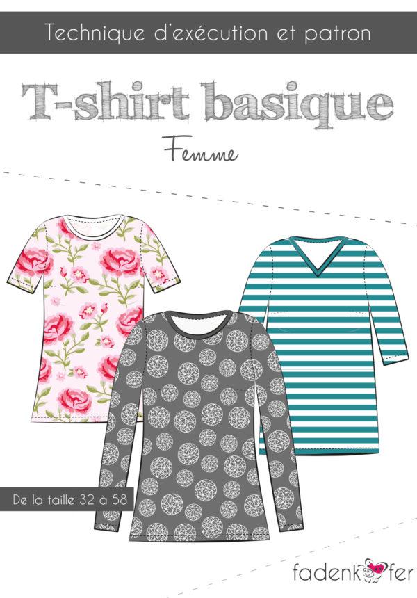 Basicshirt Damen Kurzanleitung-franz-final.indd