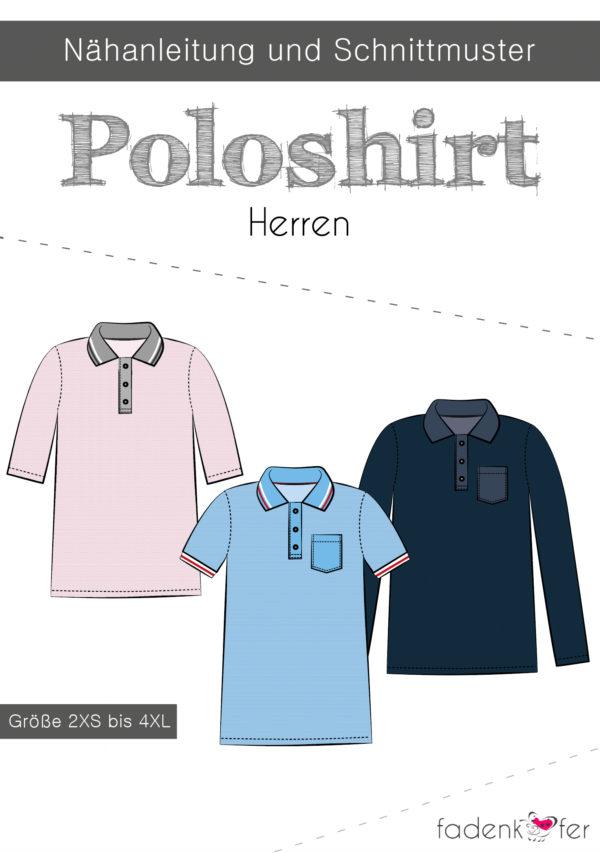 Poloshirt-Herren-Titel