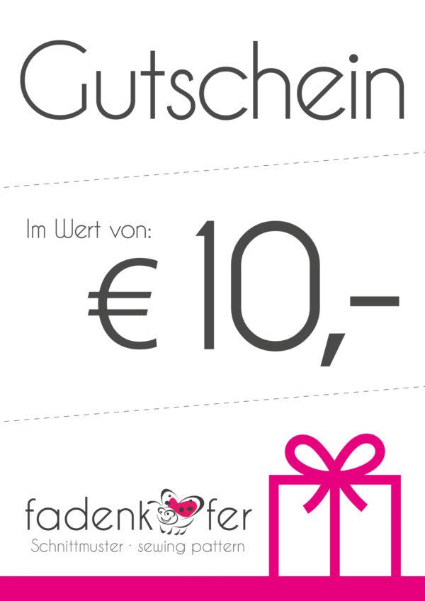 Gutschein-10€