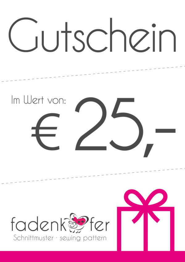 Gutschein-25€
