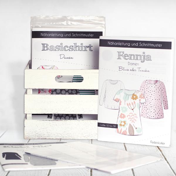 eBooks und Papierschnittmuster von Fadenkäfer