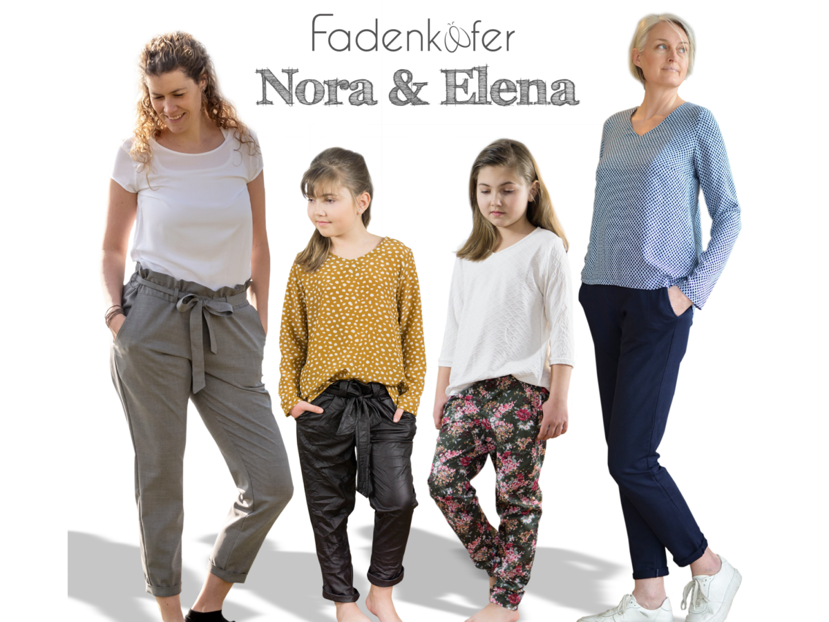 Hose Nora, Bluse Elena